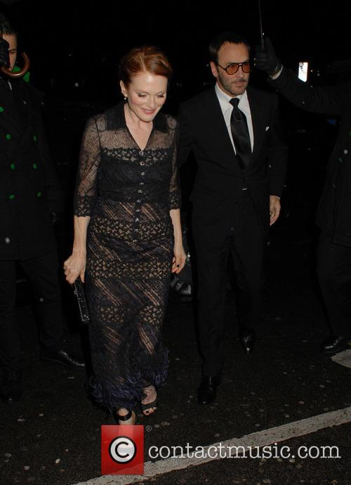 Julianne Moore and Tom Ford 1