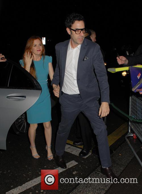 Isla Fisher and Sacha Baron Cohen 2