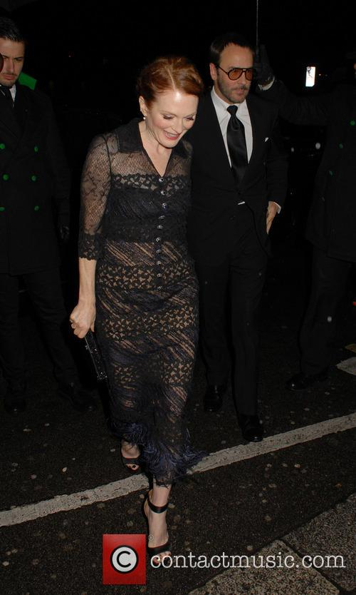 Julianne Moore and Tom Ford 2