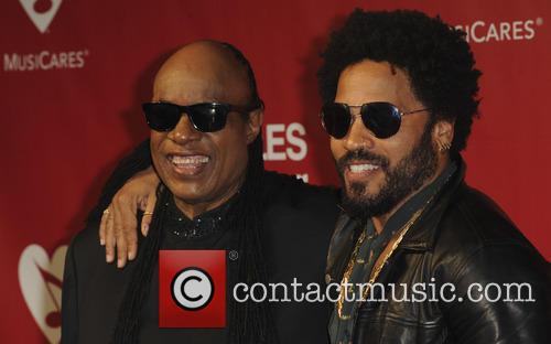 Lenny Kravitz and Stevie Wonder 2