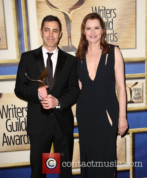 Josh Singer and Geena Davis 2