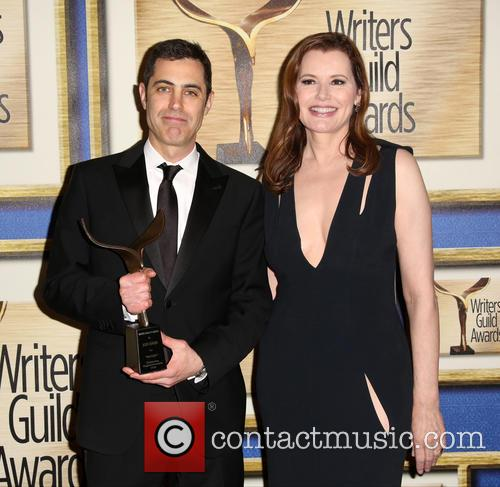 Josh Singer and Geena Davis 3