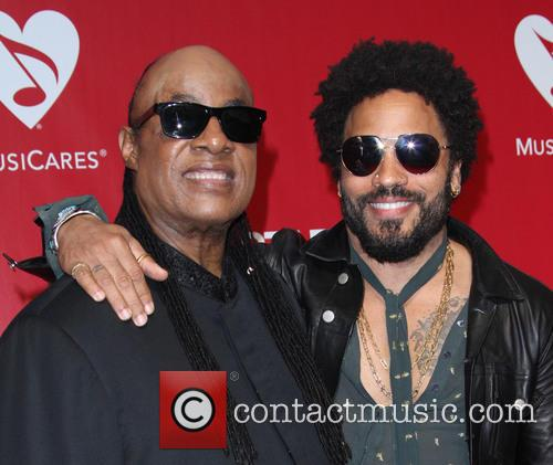 Stevie Wonder and Lenny Kravitz 8