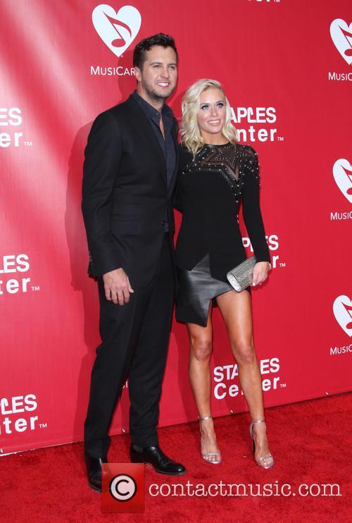 Luke Bryan and Wife Caroline Boyer 4