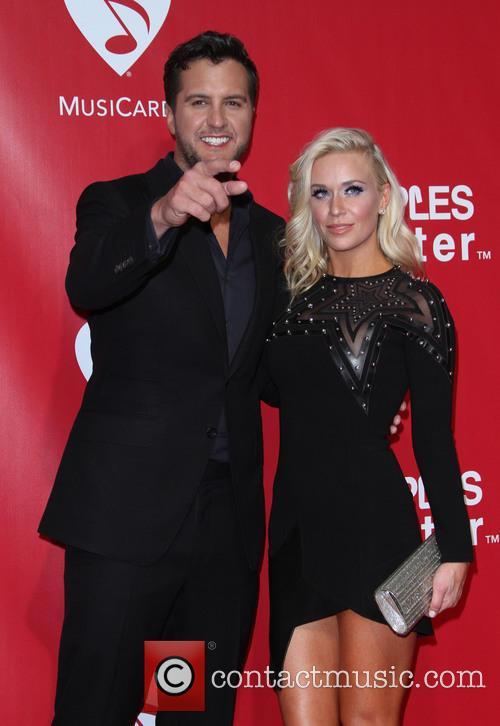 Luke Bryan and Wife Caroline Boyer 6