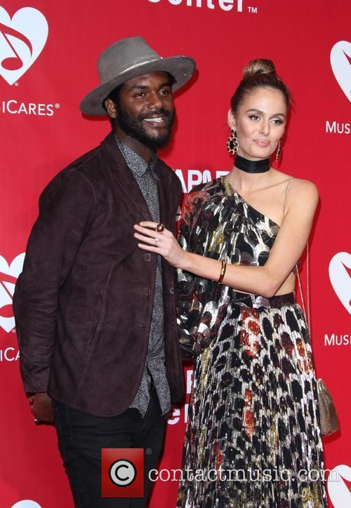 Gary Clark Jr. and Nicole Trunfio 5