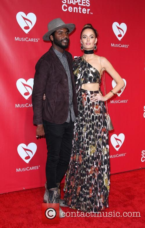 Gary Clark Jr. and Nicole Trunfio 6