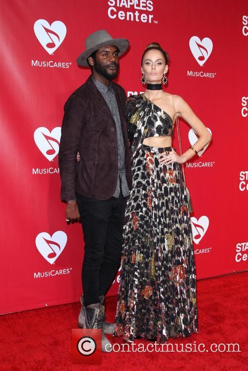 Gary Clark Jr. and Nicole Trunfio 7