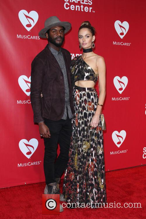 Gary Clark Jr. and Nicole Trunfio 8