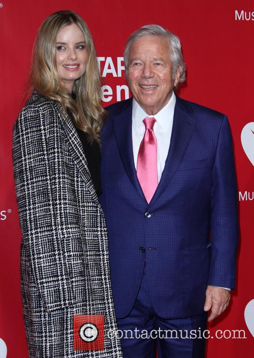 Robert Kraft and Ricki Lander 1