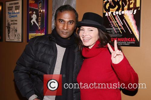 Shiva Ayyadurai and Fran Drescher 3