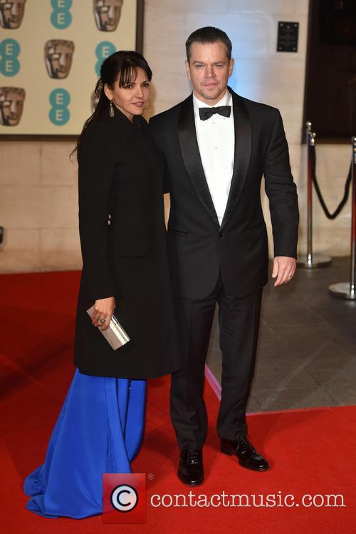 Matt Damon and Luciana Barroso 1