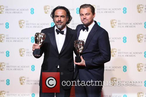 Alejandro Gonzalez Inarritu and Leonardo Dicaprio 1
