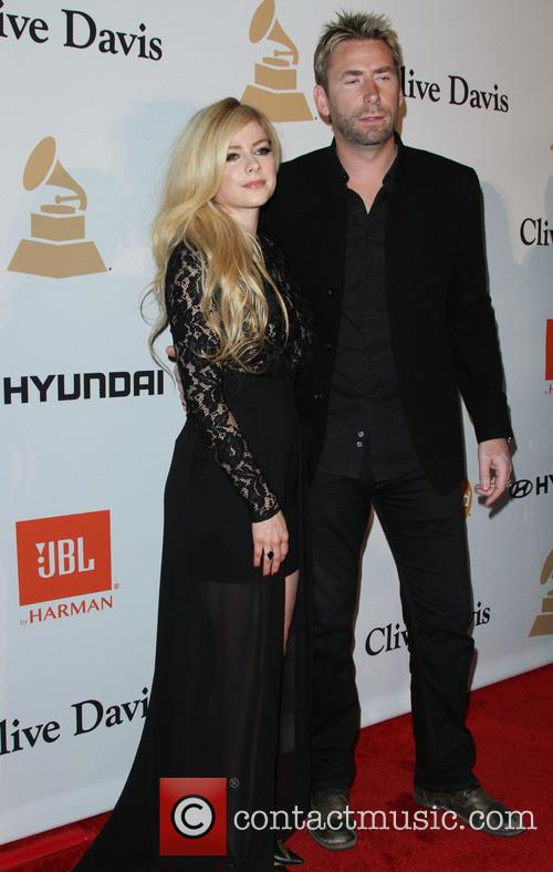 Avril Lavigne and Chad Kroeger 2