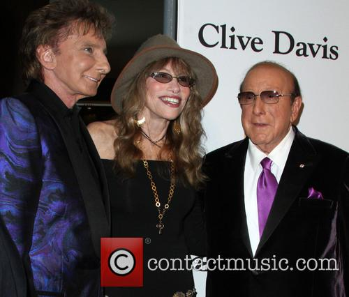 Barry Manilow, Carly Simon and Clive Davis 1