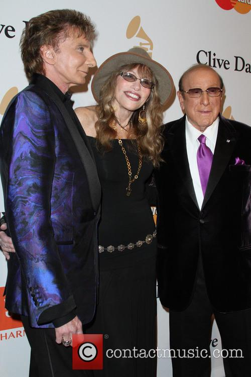 Barry Manilow, Carly Simon and Clive Davis 2