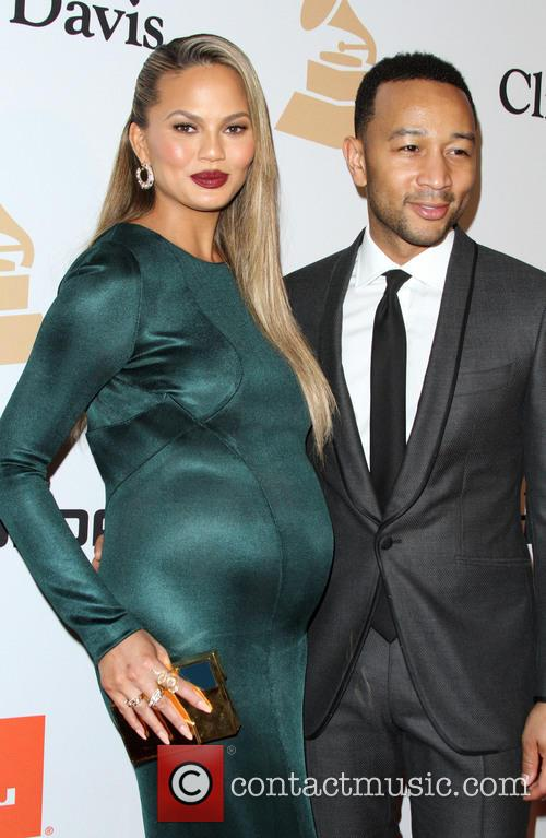 Chrissy Teigen and John Legend 7