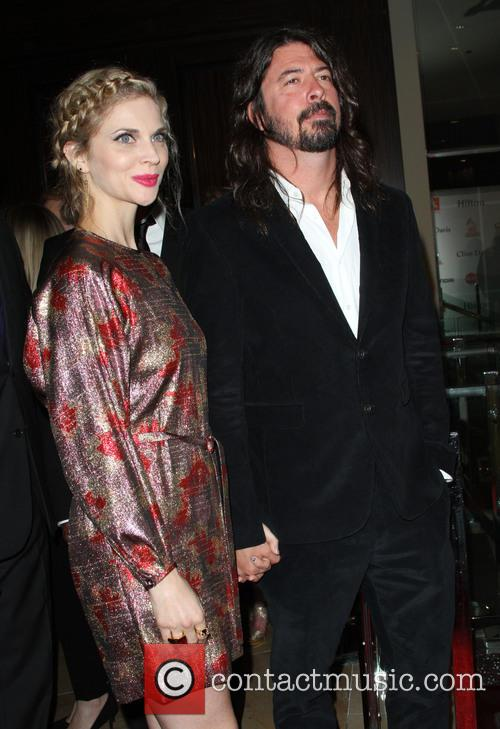 Dave Grohl and Jordyn Blum 2