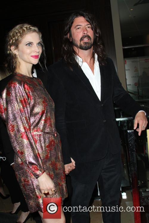Dave Grohl and Jordyn Blum 3