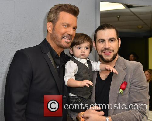 Gilberto Santa Rosa, Willy Chirino, Dash Moramarco and Chris Moramarco 7