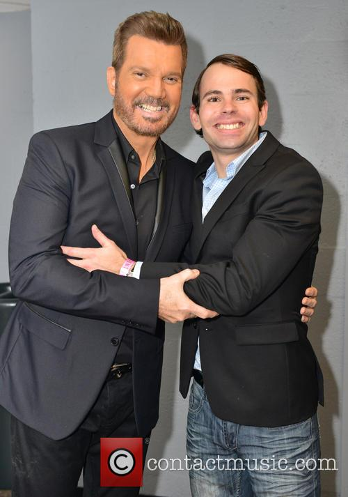Gilberto Santa Rosa, Willy Chirino and Gianfranco Chirino 9