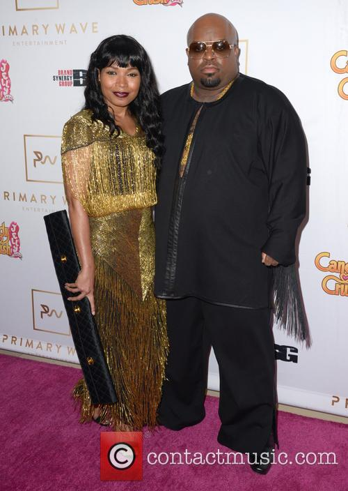 Shani James and Ceelo Green 1