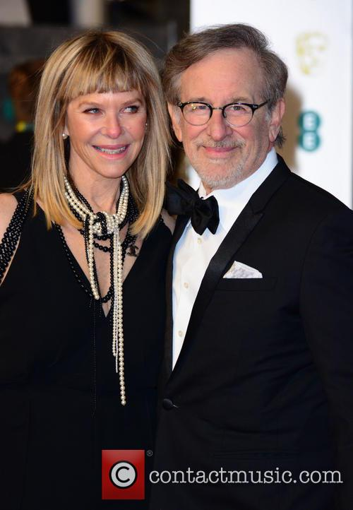 Steven Spielberg and Kate Capshaw 5