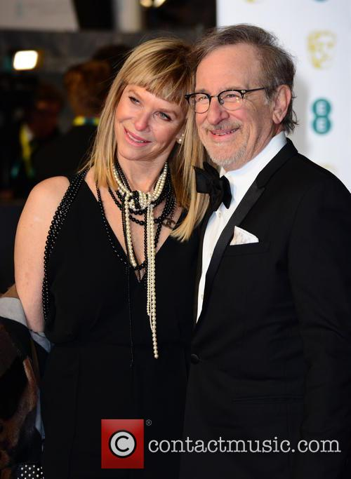 Steven Spielberg and Kate Capshaw 6