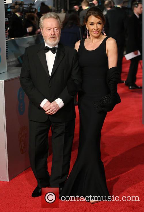 Ridley Scott and Giannina Facio 3