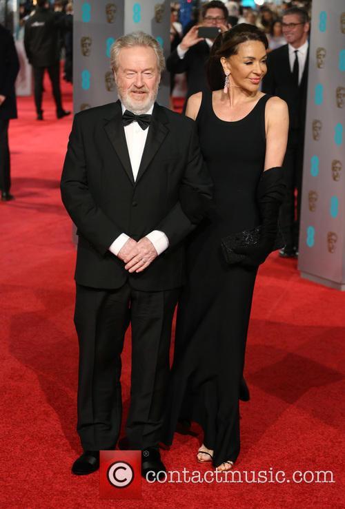 Ridley Scott and Giannina Facio 4