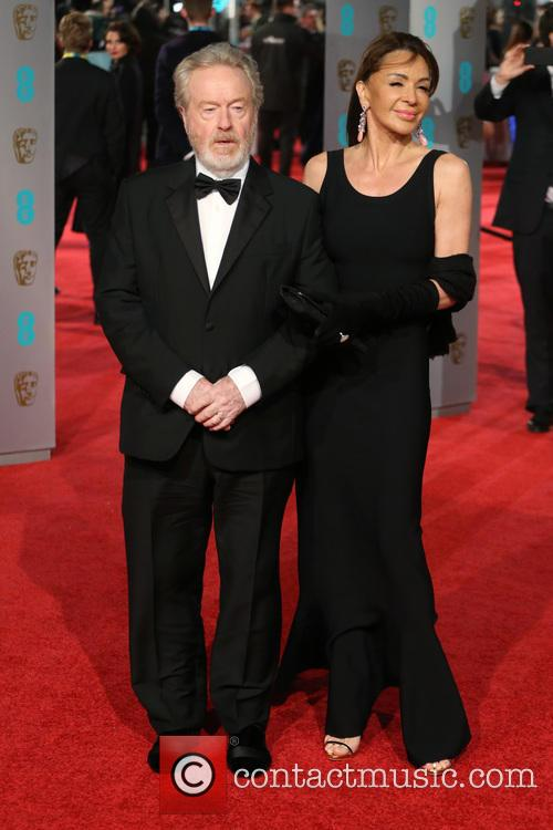 Ridley Scott and Giannina Facio 5