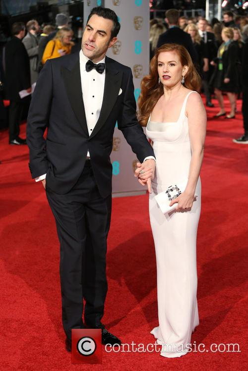 Sacha Baron Cohen and Isla Fisher 3