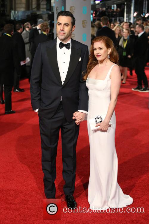 Sacha Baron Cohen and Isla Fisher 4