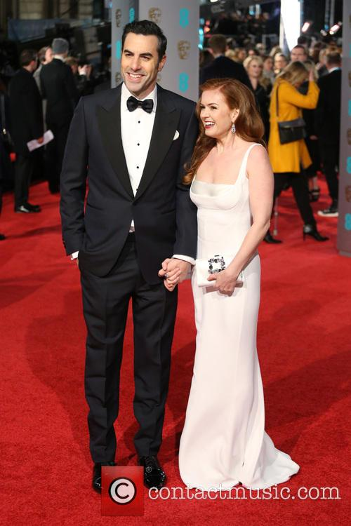 Sacha Baron Cohen and Isla Fisher 5