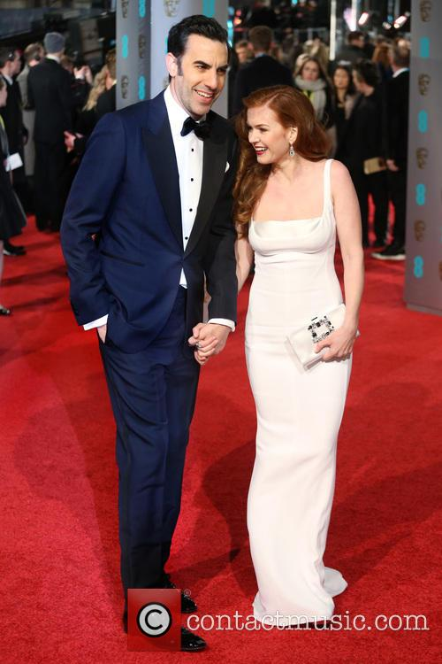 Sacha Baron Cohen and Isla Fisher 7