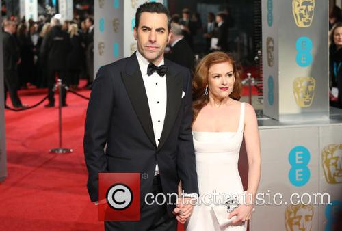 Sacha Baron Cohen and Isla Fisher 8