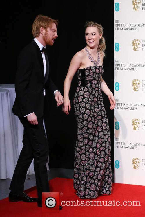 Domhnall Gleeson and Saoirse Ronan 2