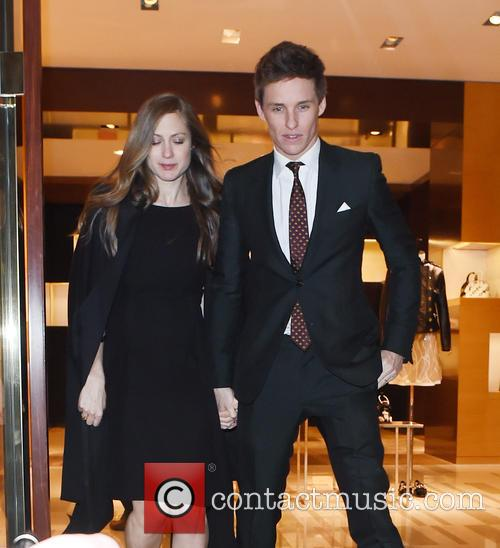 Eddie Redmayne and Hannah Bagshawe 9