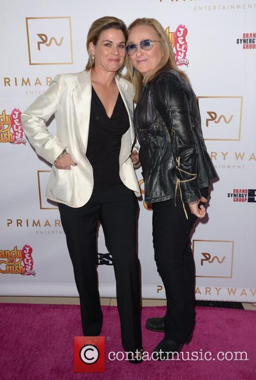 Cat Cora and Melissa Etheridge 3
