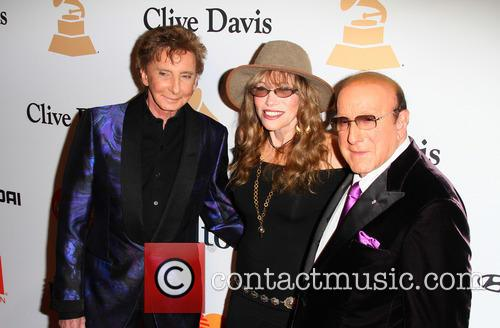 Barry Manilow, Carly Simon and Clive Davis