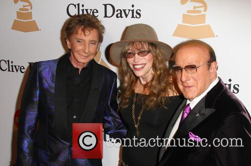 Barry Manilow, Carly Simon and Clive Davis 3