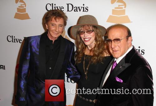 Barry Manilow, Carly Simon and Clive Davis 4