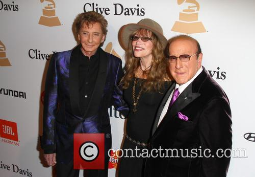Barry Manilow, Carly Simon and Clive Davis 5