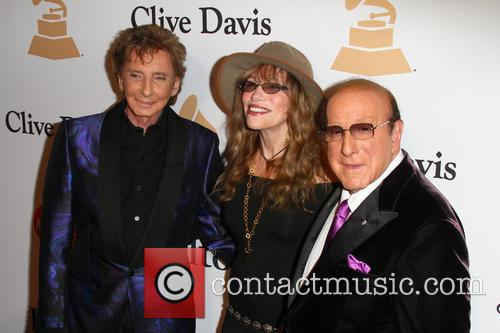 Barry Manilow, Carly Simon and Clive Davis 6