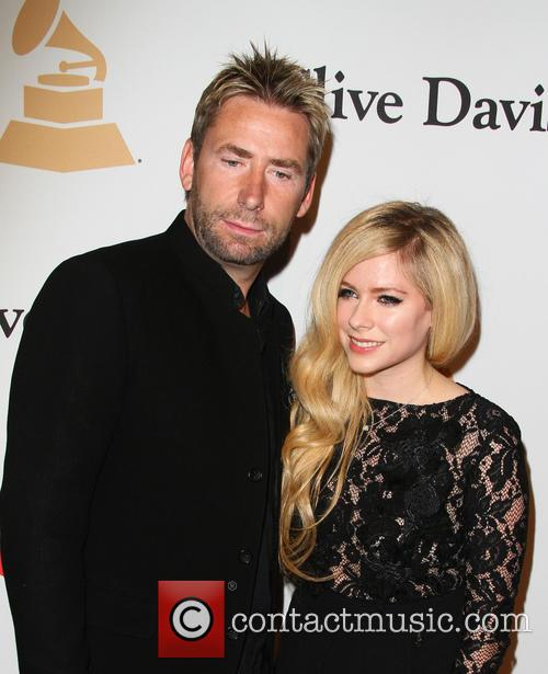 Avril Lavigne and Chad Kroeger 6