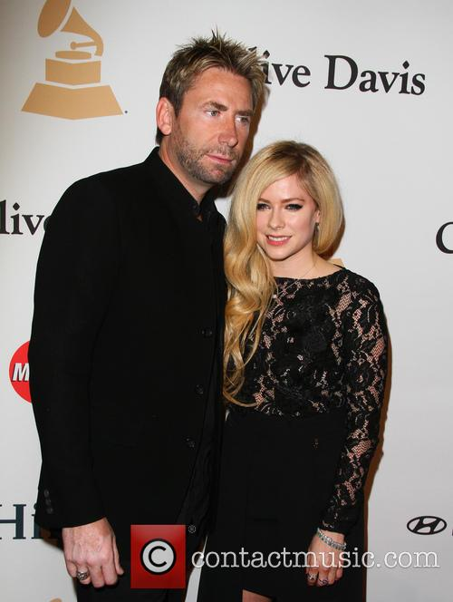 Avril Lavigne and Chad Kroeger 7