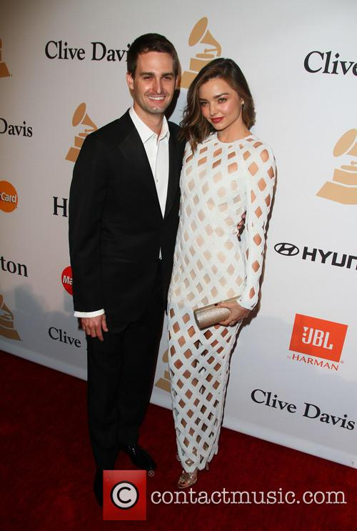 Miranda Kerr Announces Engagement To Snapchat Founder Evan Spiegel