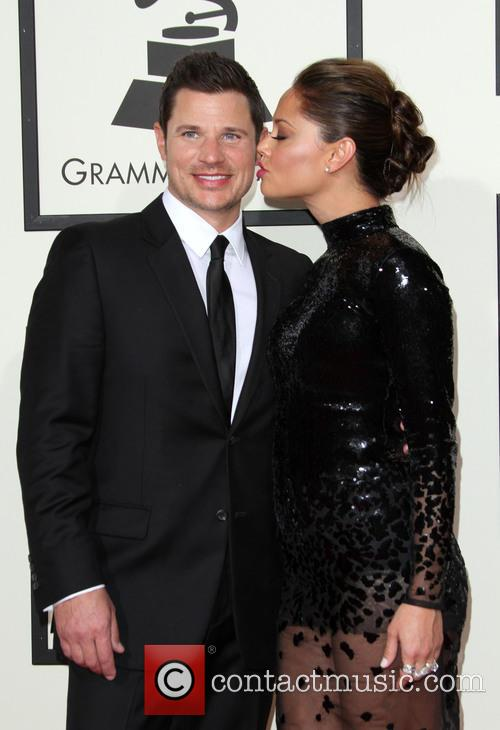 Nick Lachey and Wife Vanessa Lachey 1