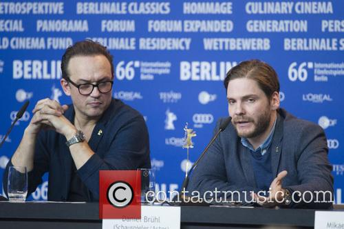 Vincent Perez and Daniel Bruhl