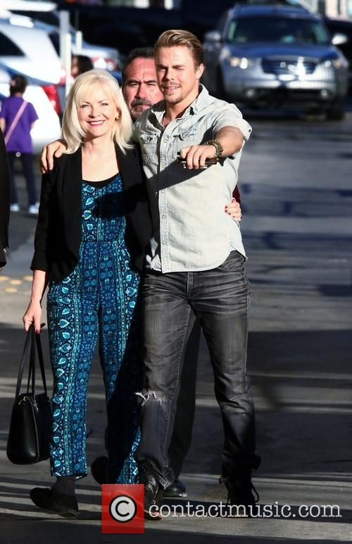 Derek Hough and And Mom 6
